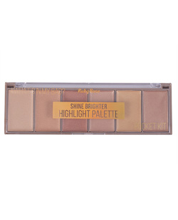 PALETA DE ILUMINADOR 6 CORES SHINE BRIGHTER RUBY ROSE