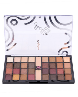 PALETA DE SOMBRAS 32 CORES + 2 PRIMER HOTTIE EYES RUBY ROSE