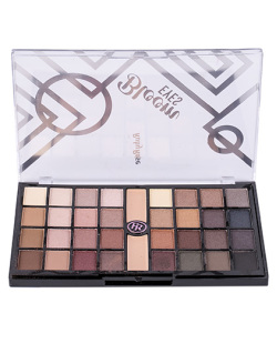 PALETA DE SOMBRAS 32 CORES + 2 PRIMER BLOOM EYES RUBY ROSE
