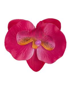 Presilha de flor vermelha lily