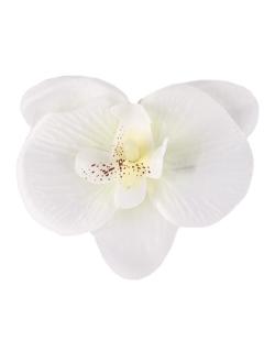 Presilha de flor branca lily