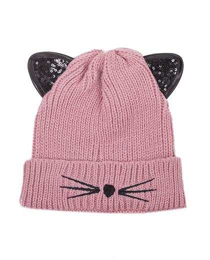 1f8dcf04c2 Gorro de tricô rosa Cat Ref. BN00307