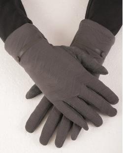 Luva de algodão cinza Gabrielly