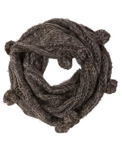 Gola de Lã cinza Grazi