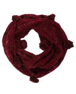 Gola de Lã vermelho Grazi