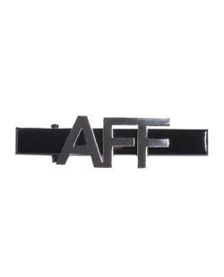 Presilha de metal preto e grafite Aff
