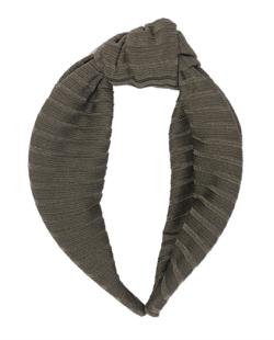 Tiara de tecido verde Tommy