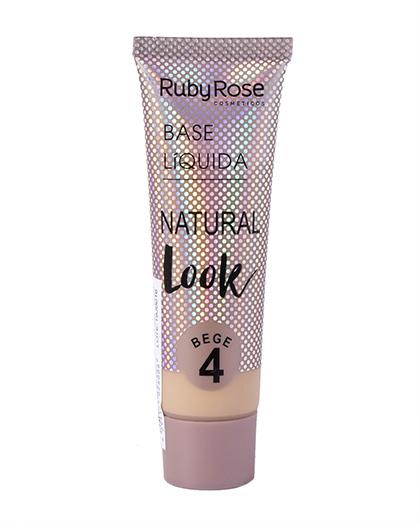 Base Líquida Natural Look Bege 4 - Ruby Rose