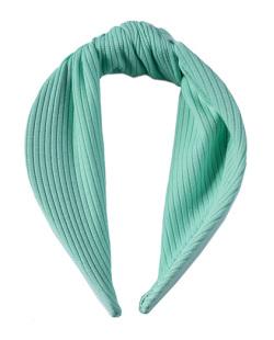 Tiara de tecido verde Paula