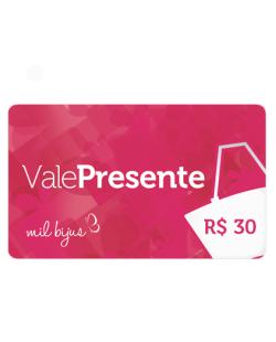 Cartão Presente R$ 30