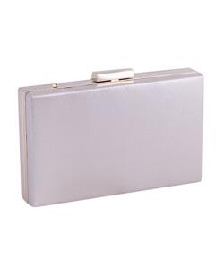 Bolsa de mão clutch de courino gold Yandra