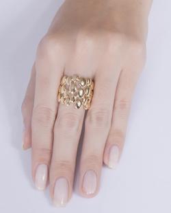 Anel dourado Ester