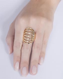 Anel dourado Emanuela