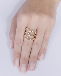Anel dourado Eloá