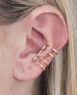 Piercing fake dourado Marcela