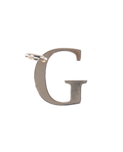 Pingente dourado letra G