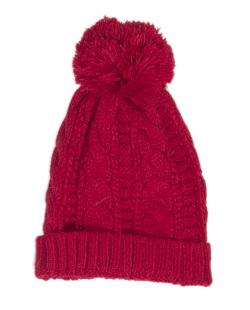 Gorro de tricô vermelho Missouri