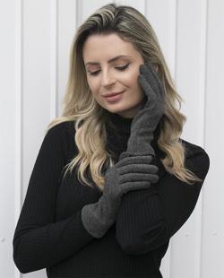 Luva de tecido cinza Lucí