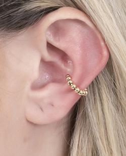 Piercing fake dourado Gabes