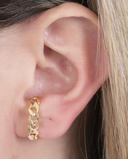 Kit piercing fake dourado Malus