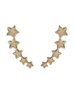 Ear cuff dourado Malika