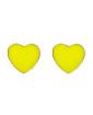 Brinco pequeno dourado e amarelo Baleth