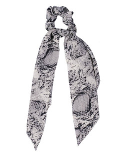 Laço de tecido cinza Tyga