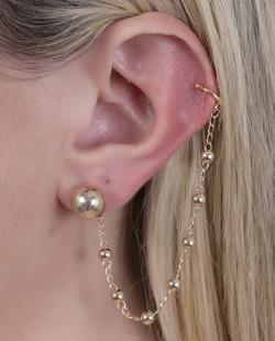 Kit piercing fake dourado Mind