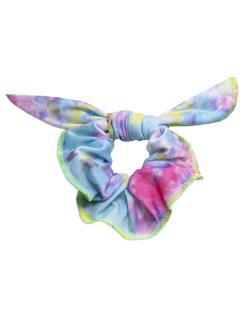 Laço de tecido tie dye Makan