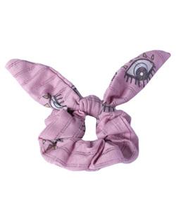 Laço de tecido rosa Any