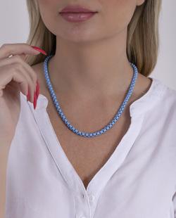 Colar azul Marví