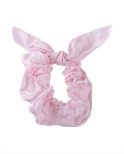 Laço de tecido rosa Joana