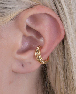 Piercing fake dourado Hilary