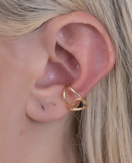 Piercing fake dourado Prikos
