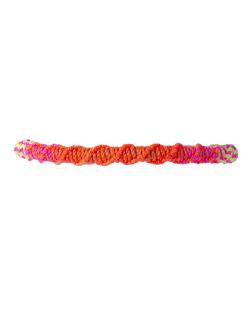 Pulseira colorida neon  May