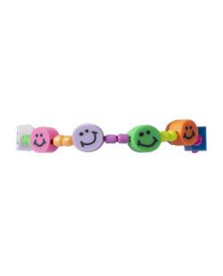 Pulseira colorida Happy