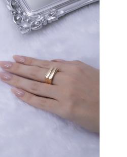Kit de anéis dourado Jake
