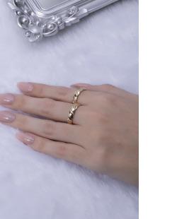 Kit de anéis dourado Fait