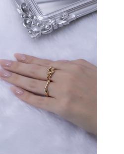 Kit de anéis dourado Joy