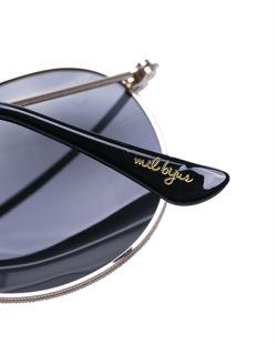 Óculos dourado Gil