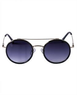 Óculos preto com detalhes dourado Sarah