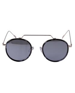 Óculos espelhado dourado Amanda