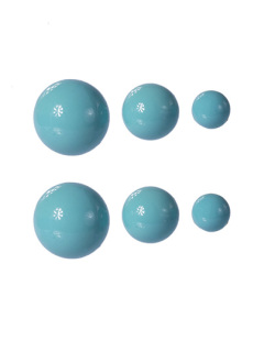 Kit 3 pares de brincos azul Hanna