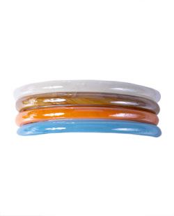 Kit 4 pulseiras coloridas Summer