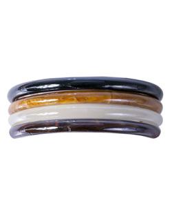 Kit 4 pulseiras coloridas Malta