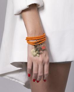 Pulseira laranja Maly