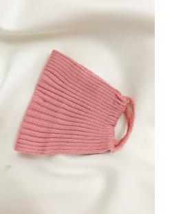 Máscara de tecido rosa Caves