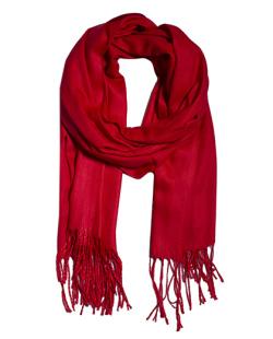 Lenço vermelho Isabela