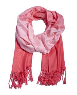 Lenço degradê rosa Brooklyn