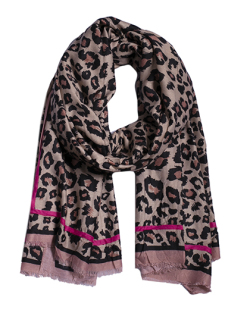 Lenço animal print rosa Perth